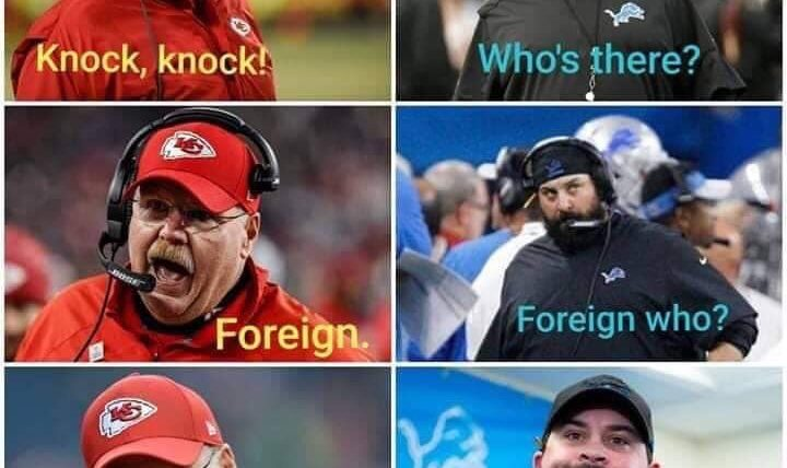 Kansas City chiefs foreign meme