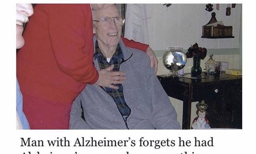 man forgets he has alzheimer's meme
