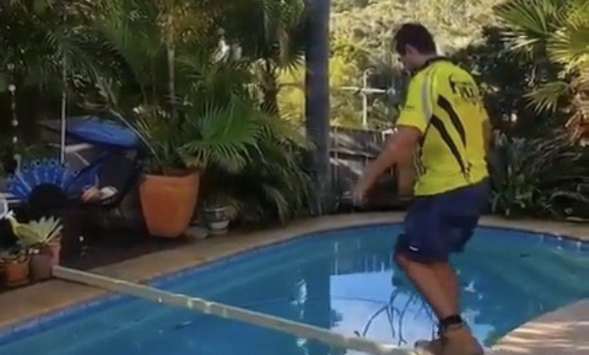construction apprentice prank
