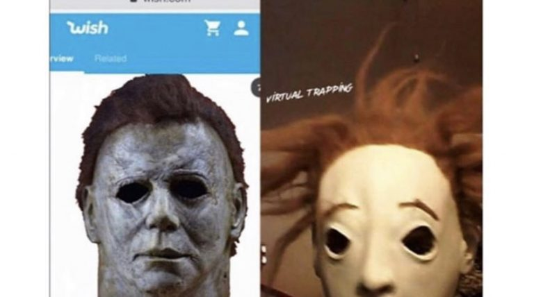 michael myers mask from wish