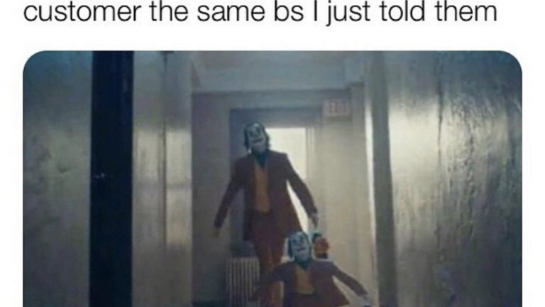 manager says same thing joker meme
