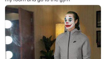 The Joker procrastination meme