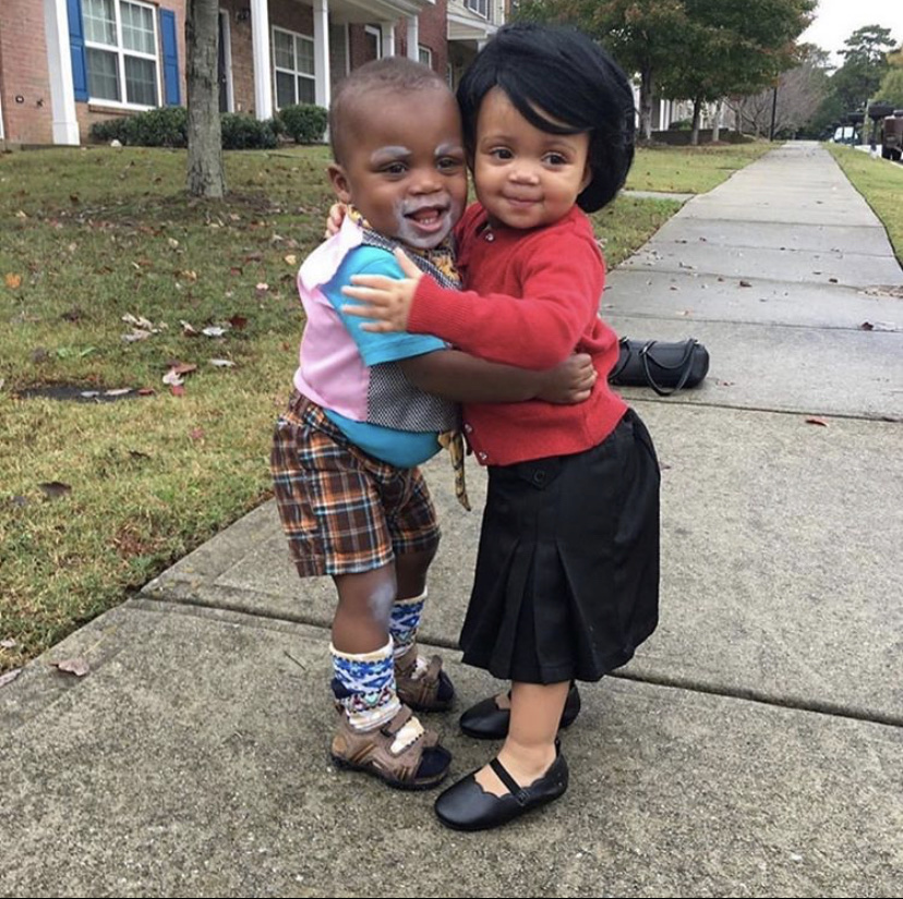 cora and mr brown baby costume