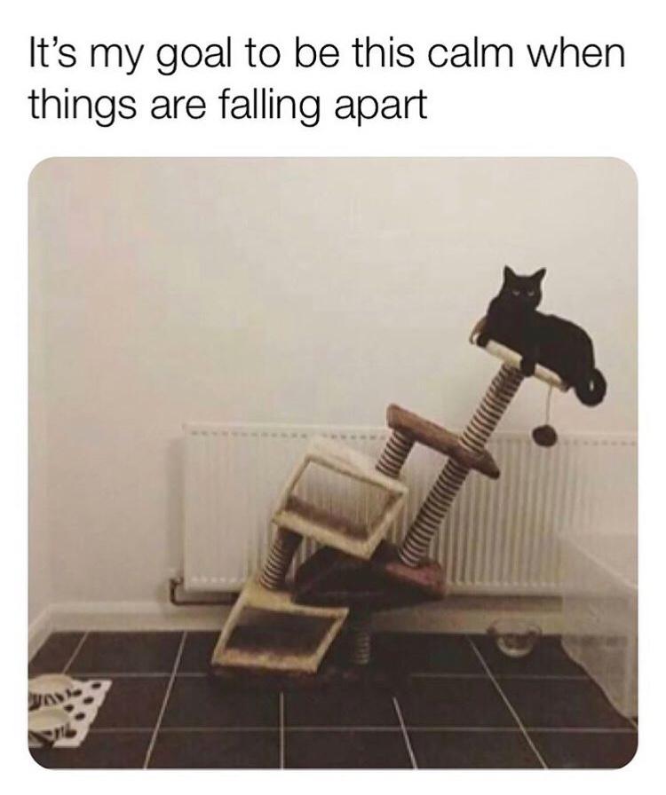 When my life falls apart