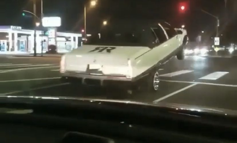 Lowrider car gets messed up