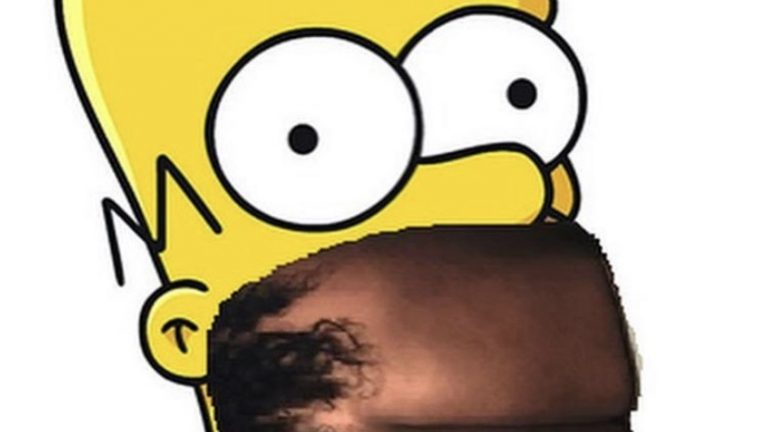 Homer Simpson Lizzo naked butt lips meme