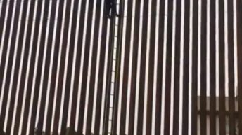 scaling the border wall