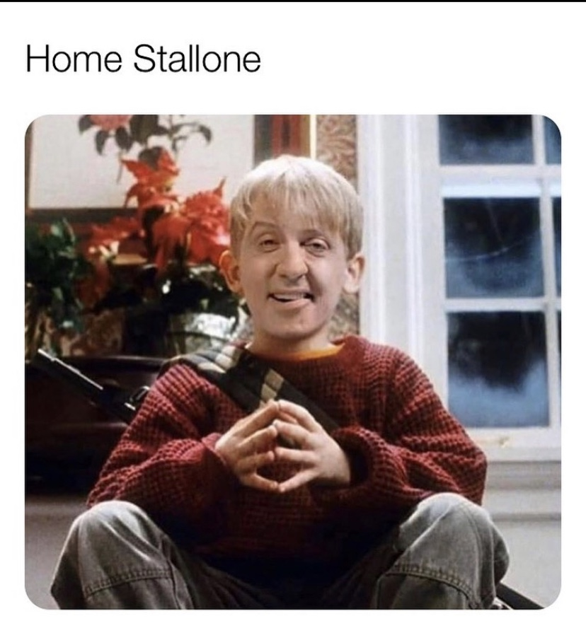 Home Stallone meme