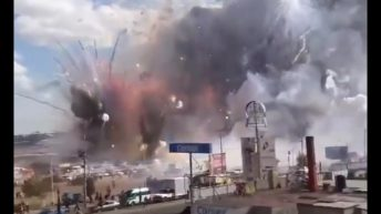 Mexico firework explosion