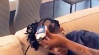 Haircut prank