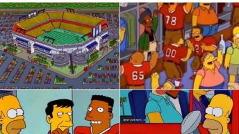 The Simpsons predicted the 49ers winning the Super Bowl in Miami meme