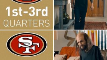 49ers 1st-3rd quarter vs 4th quarter meme