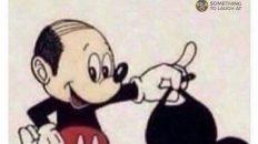 Mickey Mouse bald head meme