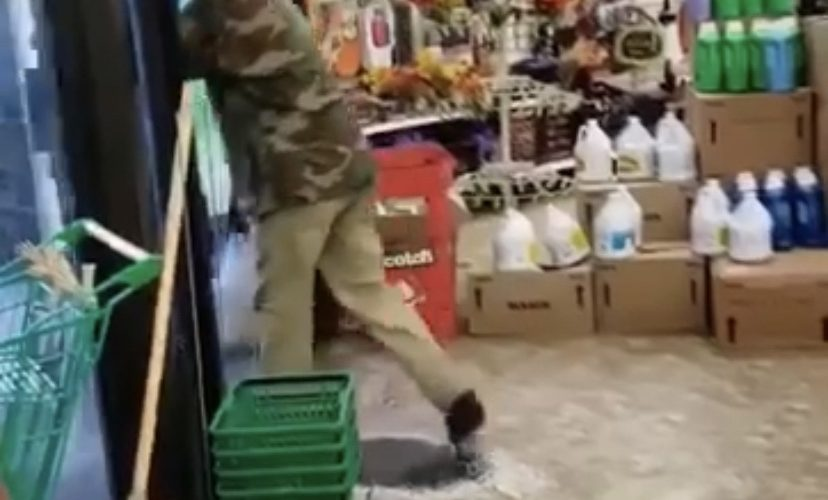 Man caught stealing in Dollar Tree