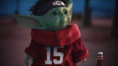 Chiefs Baby Yoda meme