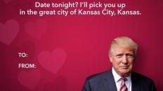 Date tonight? I'll pick you up at the great city of Kansas City, Kansas Donald Trump meme
