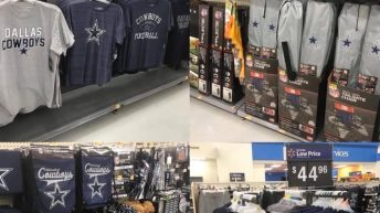 Walmart just restocked on toilet paper Dallas Cowboy meme