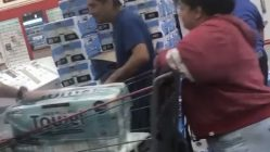 Costco rations out paper towels and tissue