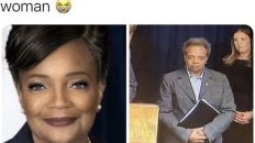 Lori Lightfoot Chicago what did ya'll do to this woman meme