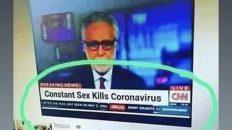 Constant sex kills coronavirus meme