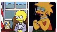 How I intended for my life to go vs how it's actually going Simpson meme
