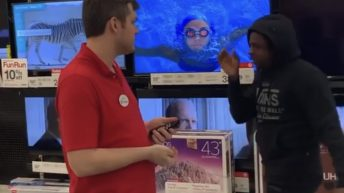 Guy fake sneezes in Target during coronavirus