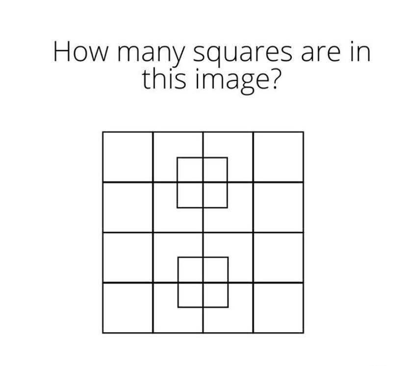How many squares are in this image?