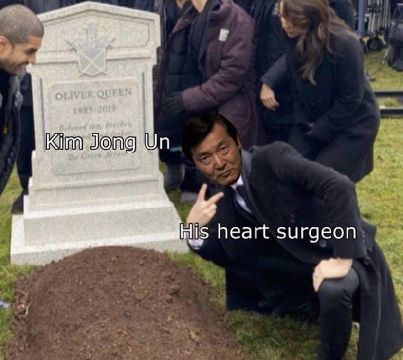 Kim Jong Un heart surgeon meme