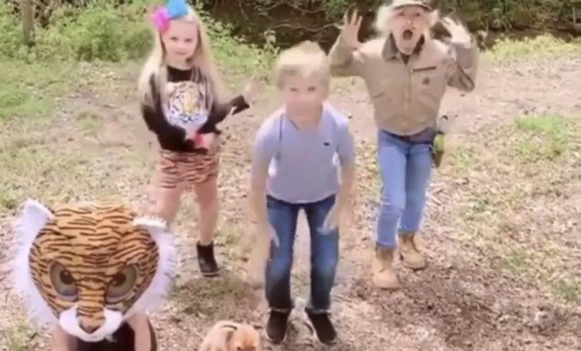 Kids Do Carole Baskin Tiger King Challenge Something To Laugh At