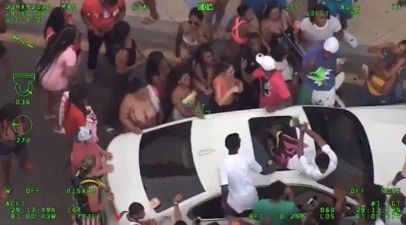 Daytona party during social distancing