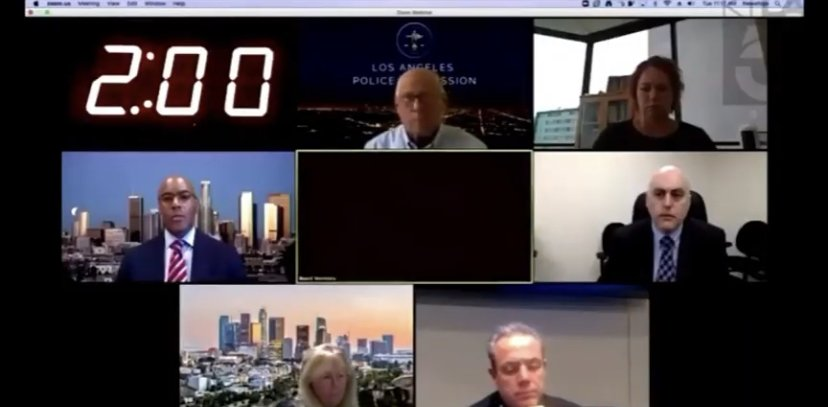 Citizen virtually whoops LA Police Chief