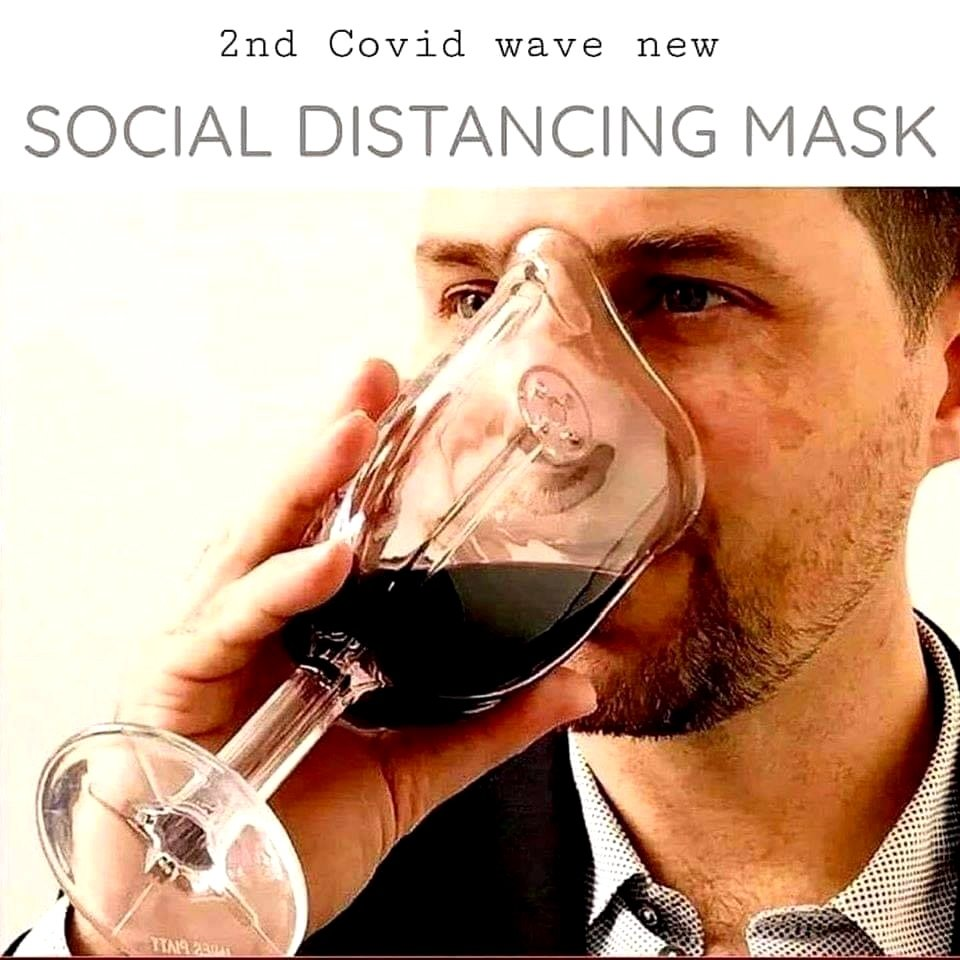 2nd covid wave new social distancing mask meme