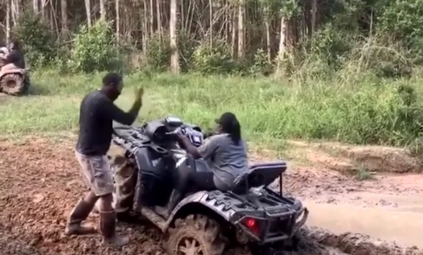 Off roading gone wrong