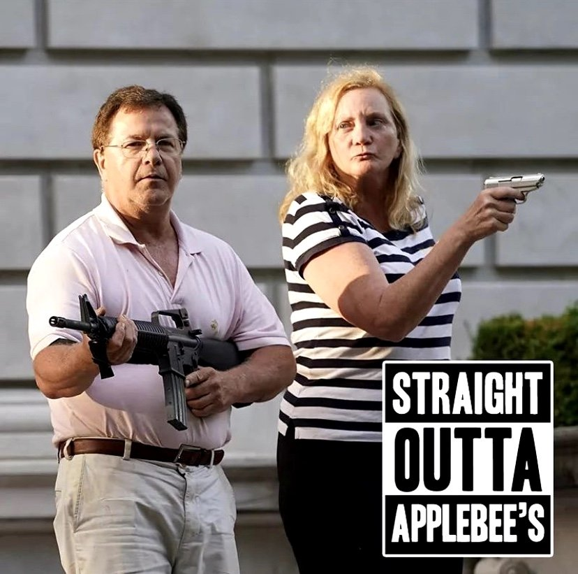 Straight outta Applebee's meme