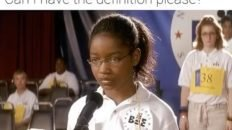 your word is entanglement Akeelah and the bee meme