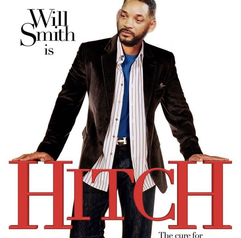 Will Smith is Hitch sad Will meme