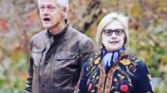 Bill and Hillary Clinton after Ghislane Maxwell arrest