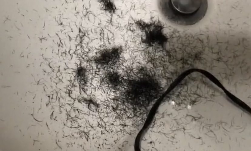 Man cuts beard off for first time ever