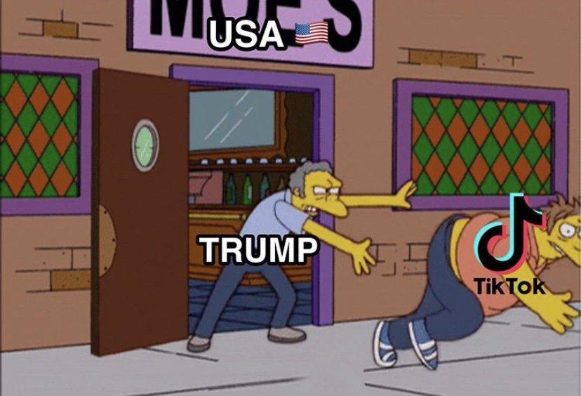 Trump banning tiktok