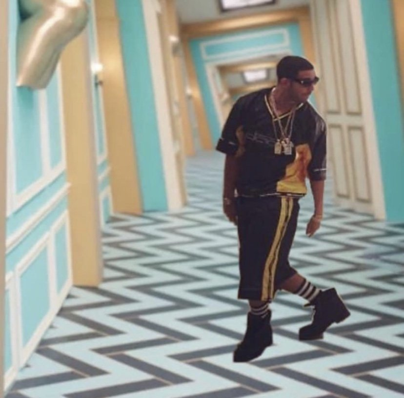 Drake in dada WAP meme
