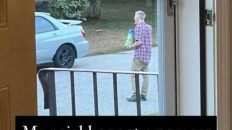 My neighbor got a new car today and he's been standing outside staring at it meme
