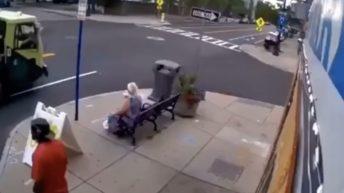 Public trash pickup fail
