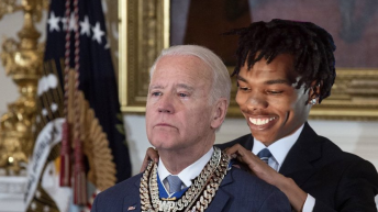 Moneybagg Joe Lil Baby Medal of Freedom meme
