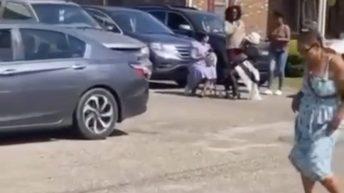 Woman twerks during church service