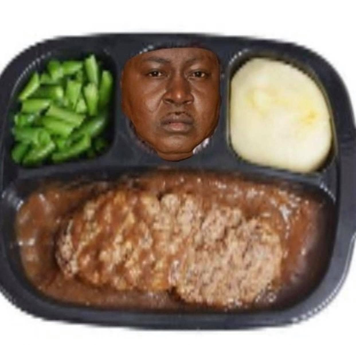Trick Daddy lunch plate meme