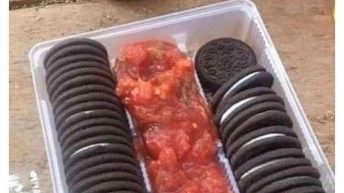You aren't from Ohio if you don't know about Oreos & salsa meme