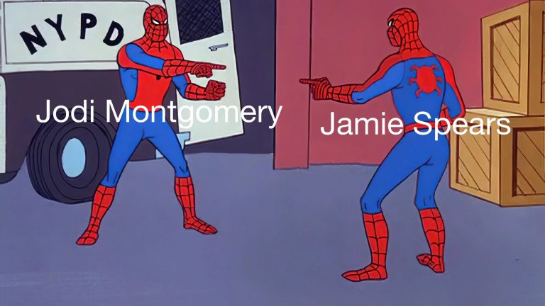 Jamie Spears vs Jodi Montgomery Britney Spears conservatorship meme