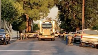 LAPD accidentally sets off explosion