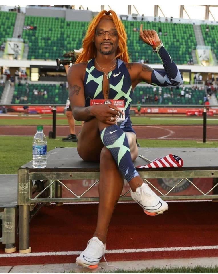 Sha'carri Richardson Snoop Dogg meme