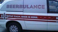 Beerbulance mobile